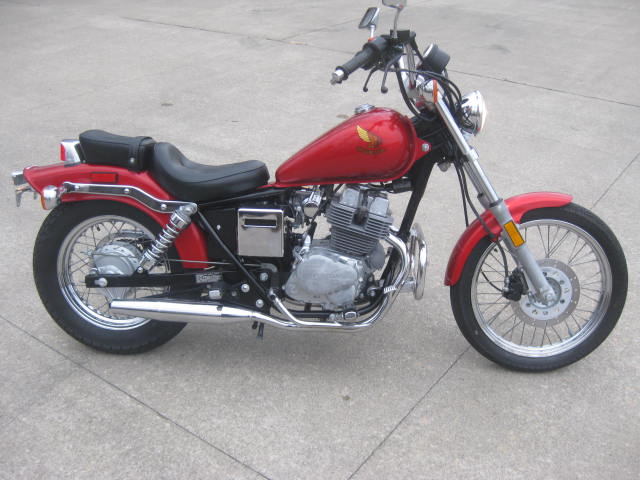 1986 Honda Rebel 250