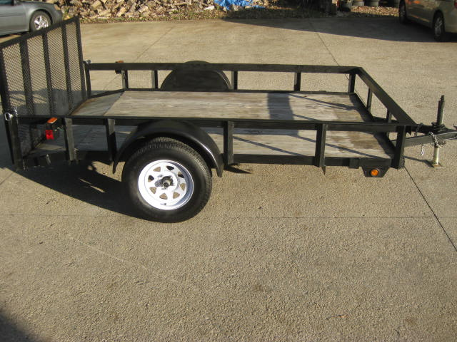 2013  Trailer 6.5x10 Dove Tail Trailer
