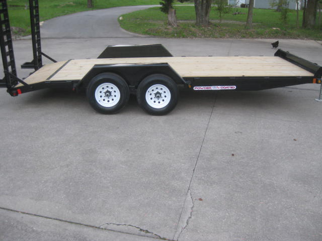 2021  Liberty Industr NEW 7'x18' Equipment Trailer HD 10k