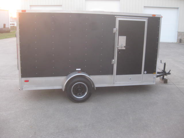 2012  King American 12ft Enclosed Trailer